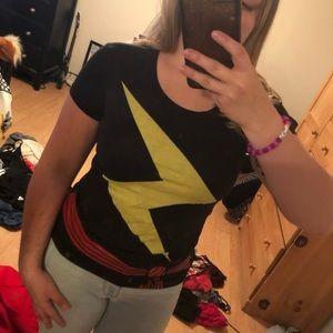 Captain Marvel Tee